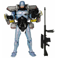 Robocop 7-Inch Ultra Deluxe Action Figure with Jetpack and Assault Cannon 42075