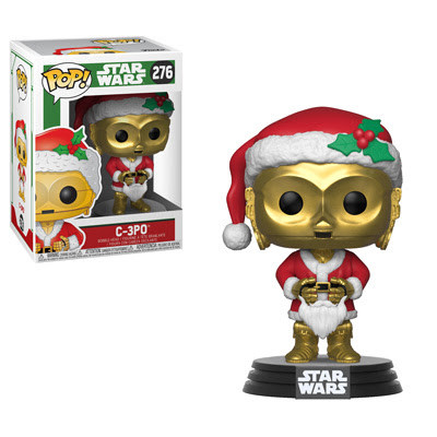 Pop New Funko Star Wars Holiday Santa Yoda