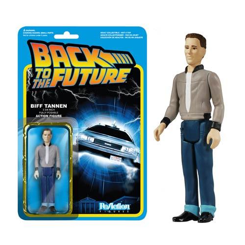 Funko Back to the Future Biff Tannen ReAction 3 3/4-Inch Retro Action Figure