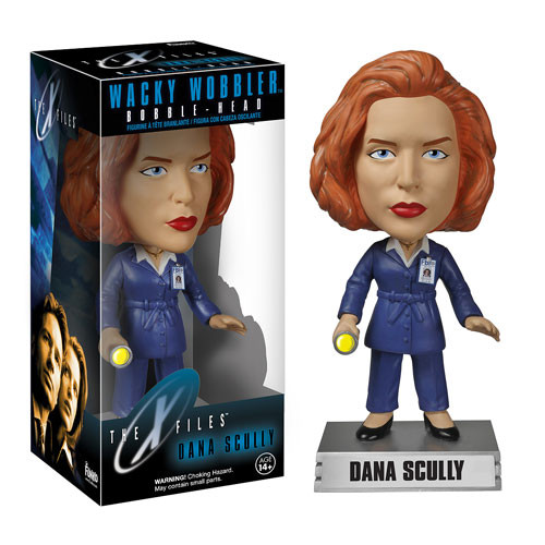 Funko X-Files Dana Scully Funko Wacky Wobbler - Bobble Head