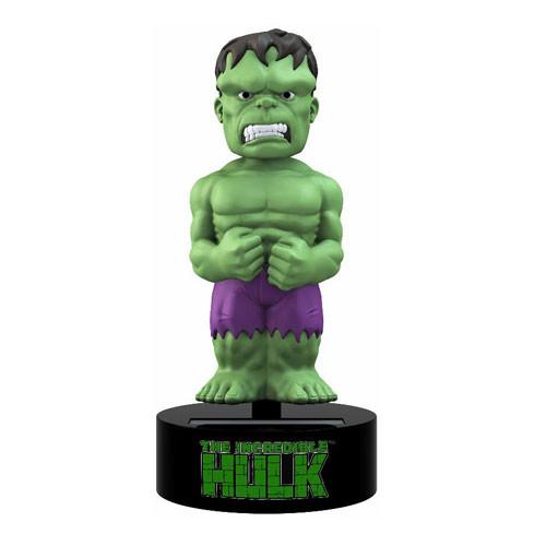 The Incredible Hulk Marvel Comics Solar-Powered Bobble Head