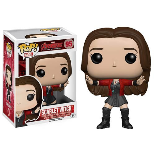 Funko Avengers Age of Ultron Scarlet Witch Pop! Vinyl Bobble Head Figure
