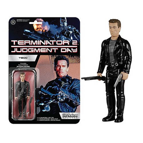 Funko Terminator 2 Terminator T - 800 ReAction 3 3/4-Inch Retro Action Figure