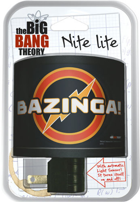 The Big Bang Theory Bazinga Night Light