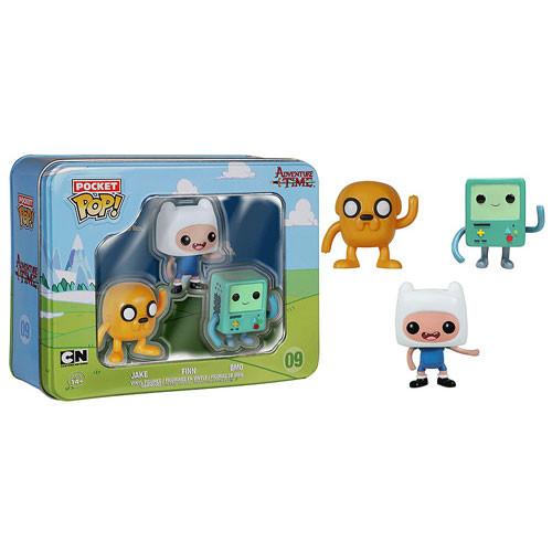 Funko Adventure Time Pocket Pop! Mini Vinyl Figure 3-Pack Tin