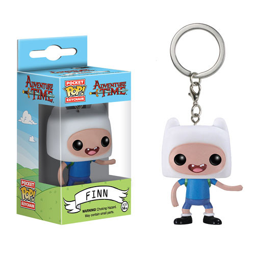 Funko Adventure Time Finn Pocket Pop! Vinyl Figure Key Chain