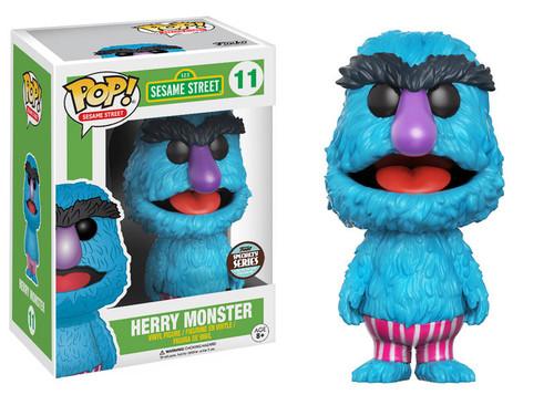 Sesame Street Funko POP! TV Herry Monster Exclusive Vinyl Figure #11
