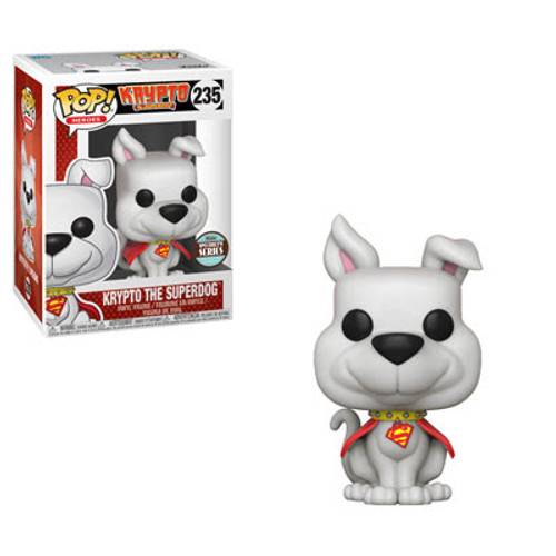 DC Funko Pop! Heroes Krypto Exclusive Vinyl Figure #235