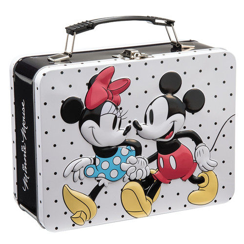 Disney Mickey & Minnie Large Tin Tote by Vandor