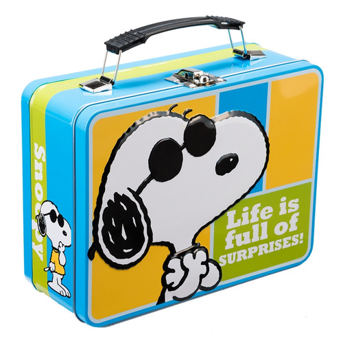 Peanuts Joe Cool Large Tin Tote by Vandor