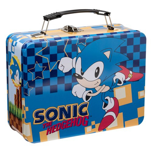Sonic the Hedgehog Large Tin Tote by Vandor