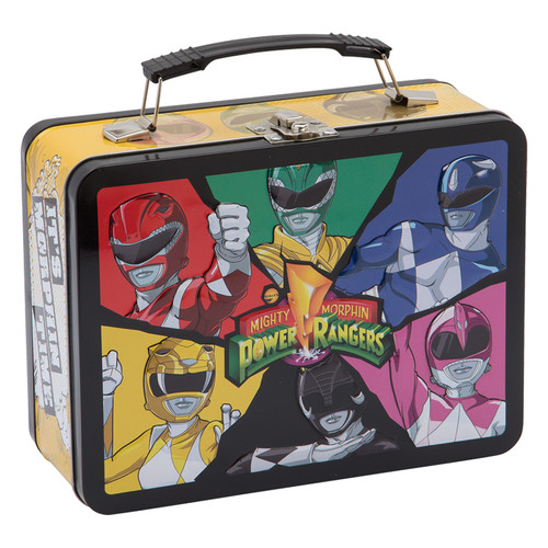 Power Rangers Large Tin Tote by Vandor