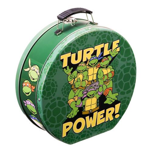 Teenage Mutant Ninja Turtles Embossed Shaped Tin Tote by Vandor
