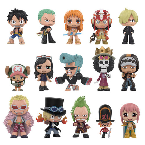One Piece Funko Mystery Mini Blind Box 12 Packs Display