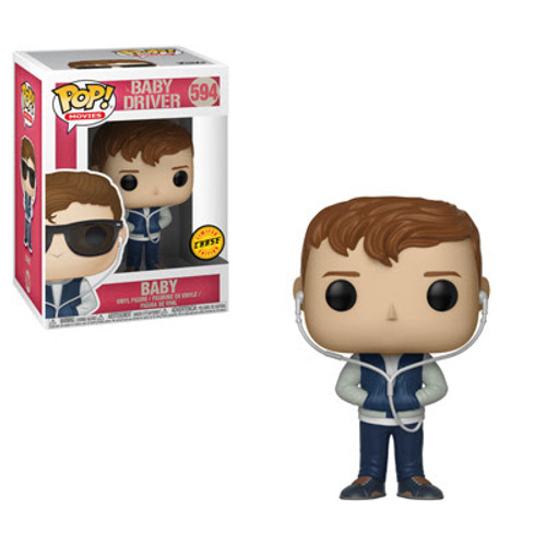 Baby Driver Funko POP! Movies Baby Vinyl Figure #594 - Chase Version