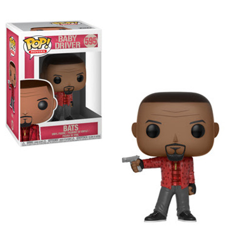 Baby Driver Funko POP! Movies Bats Vinyl Figure #595