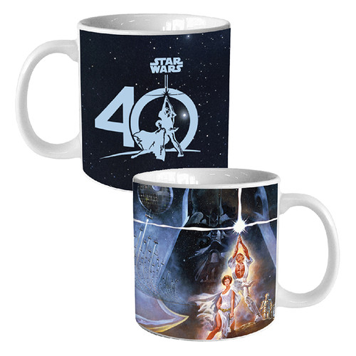 Star Wars 40th Anniversary 20 oz. Heat Reactive Ceramic Mug