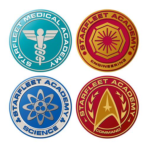 Star Trek: The Next Generation Shaped Coaster 4-Pack