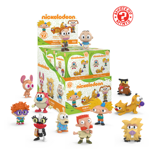 Nickelodeon Funko Mystery Minis One Sealed Pack