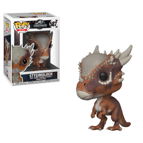 Jurassic World Fallen Kingdom Funko POP! Movies Stygimoloch Vinyl Figure #587