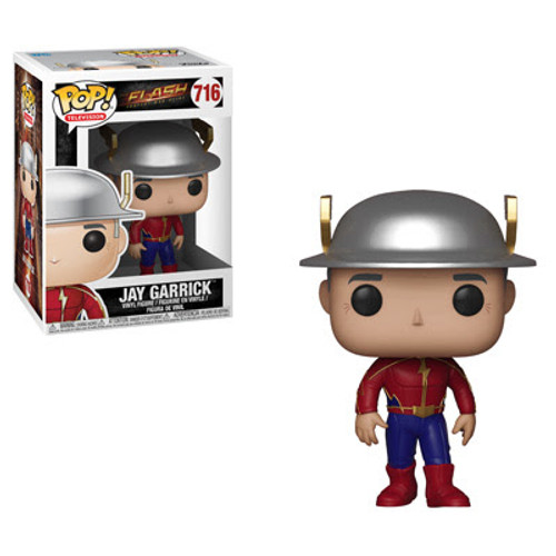 Funko Pop! TV: The Flash! Join the iconic DC Superhero The Flash on his crusade to protect Central City. This all-new The Flash Pop! TV series includes The Flash, Kid Flash, Vibe, and Jay Garrick. Explore the multiverse and travel through time with the fastest man alive and his talented team members.  The Flash Pop! Vinyl Figure measures approximately 3 3/4-inches tall. Comes packaged in a window display box.