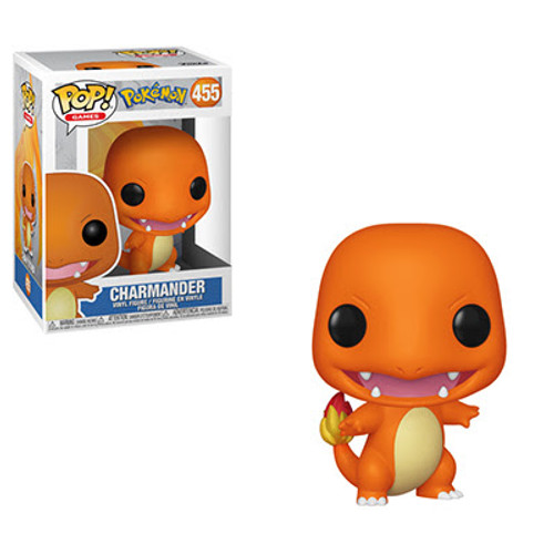 Grow your Pokémon team with this famous Pokémon! Charmander's tail will flare up when it gets angry, but this Pop! Charmander will be happy to join your team! Charmander can typically be found in hot, mountainous areas, but this Pop! Charmander should be easy to capture without a trek to your nearest mountainous region.