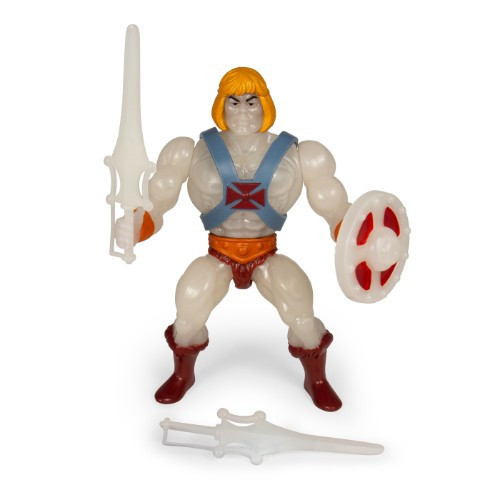 Masters Of The Universe Vintage Glow in the Dark HE-Man 5 1/2-Inch Action Figure