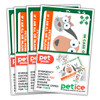 FOUR PET PACK SPECIAL OFFER - EXAMPLE