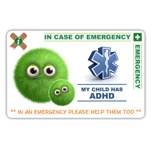 ADHD Parent Card Front
