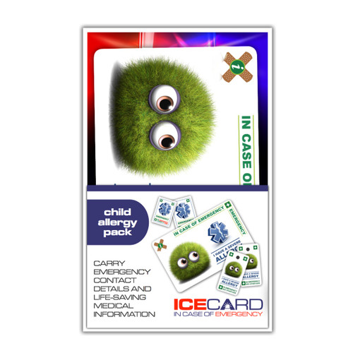ALLERGY Child ICEcard Pack