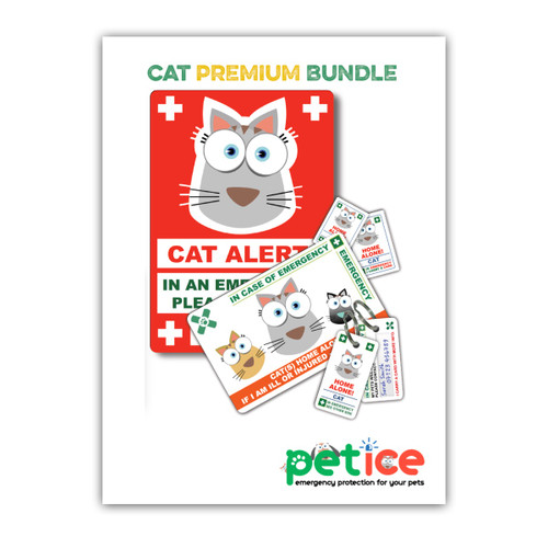 CAT design PetICE PREMIUM BUNDLE - 1 CAT Premium Pack & 1 CAT Window Cling