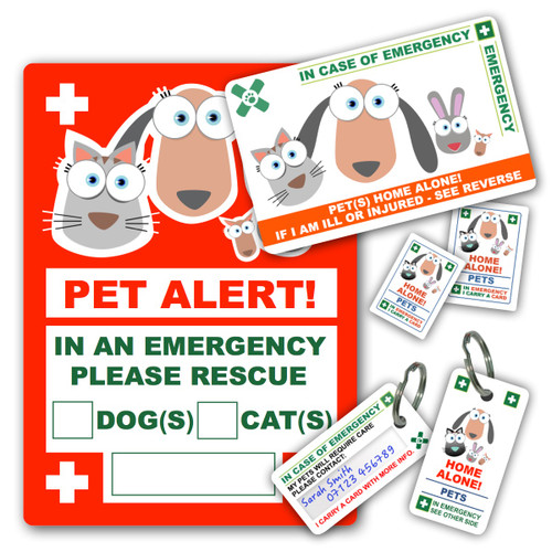 Fantastic Pet Emergency House Sticker Beutiful Home Inspiration Aditmahrainfo