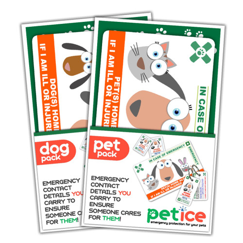 TWO PET PACK SPECIAL OFFER - EXAMPLE