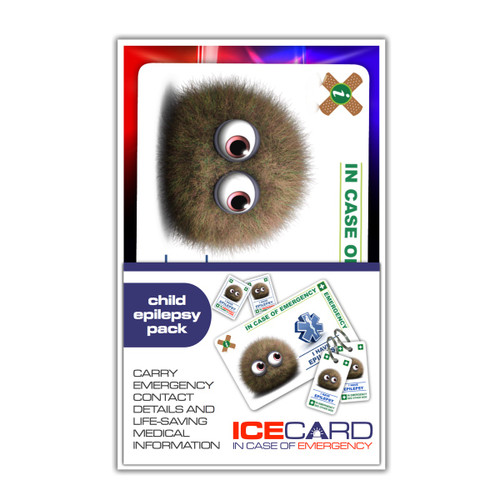 EPILEPSY CHILD ICEcard Pack