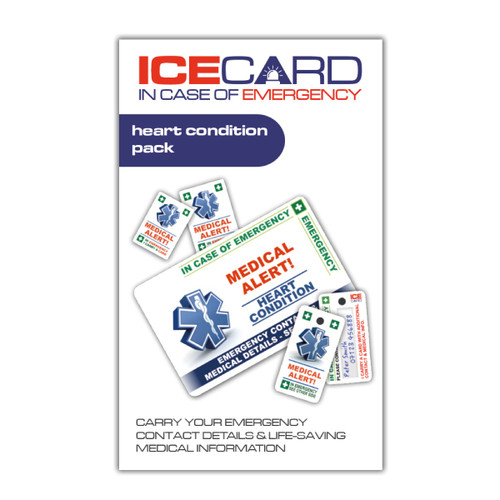 HEART CONDITION ICEcard Pack