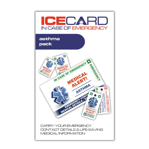 ASTHMA ICEcard ECO-Pack