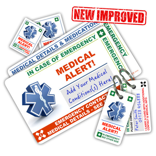 New MEDICAL ALERT Pack for 2017