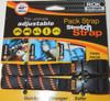 ROK Straps Adjustable Pack Strap 42 x 5/8 inch Black / Orange