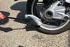 "Wheel Woolies Black w/ RED Handle 3 piece Kit Sm 8"" Med 12"" Lrg 18"""