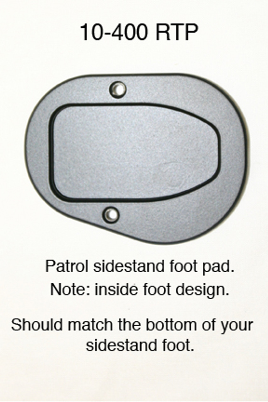 "Motorcycle Sidestand Foot plate Enlarger for R1200RT ""Patrol Model Only"""