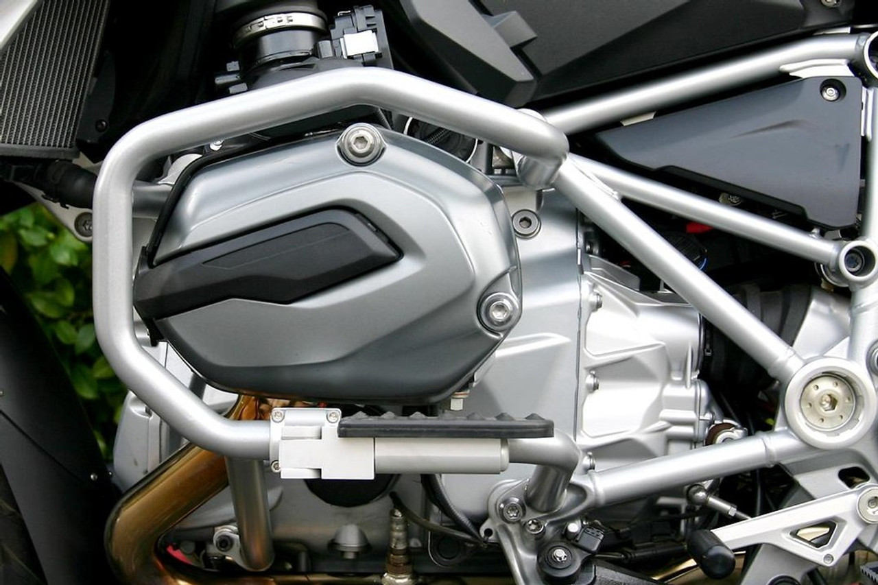 Engine Guard Mount Driver Highway pegs SILVER for many BMW R1200