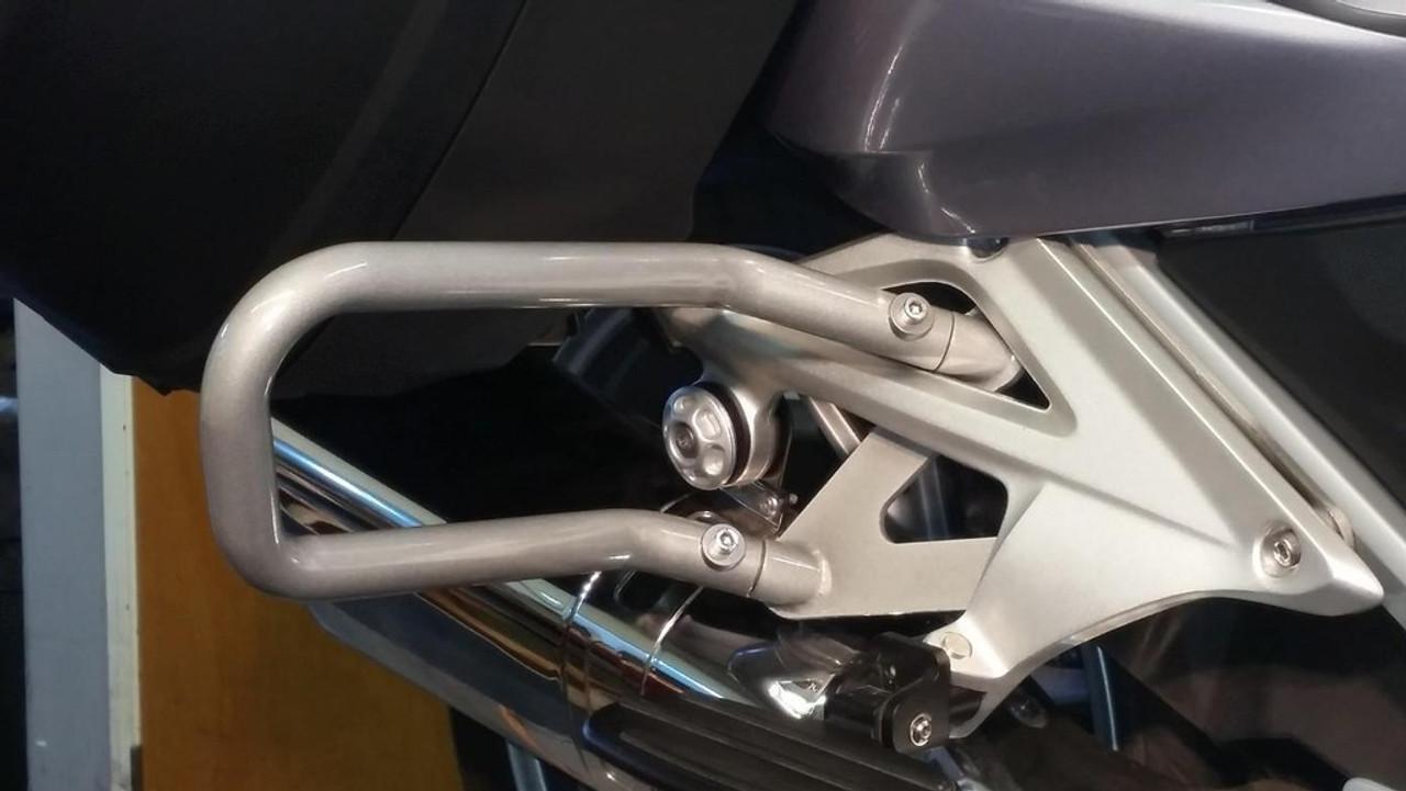 Rear Guard Bar Silver for BMW R1200RTLC 2014+