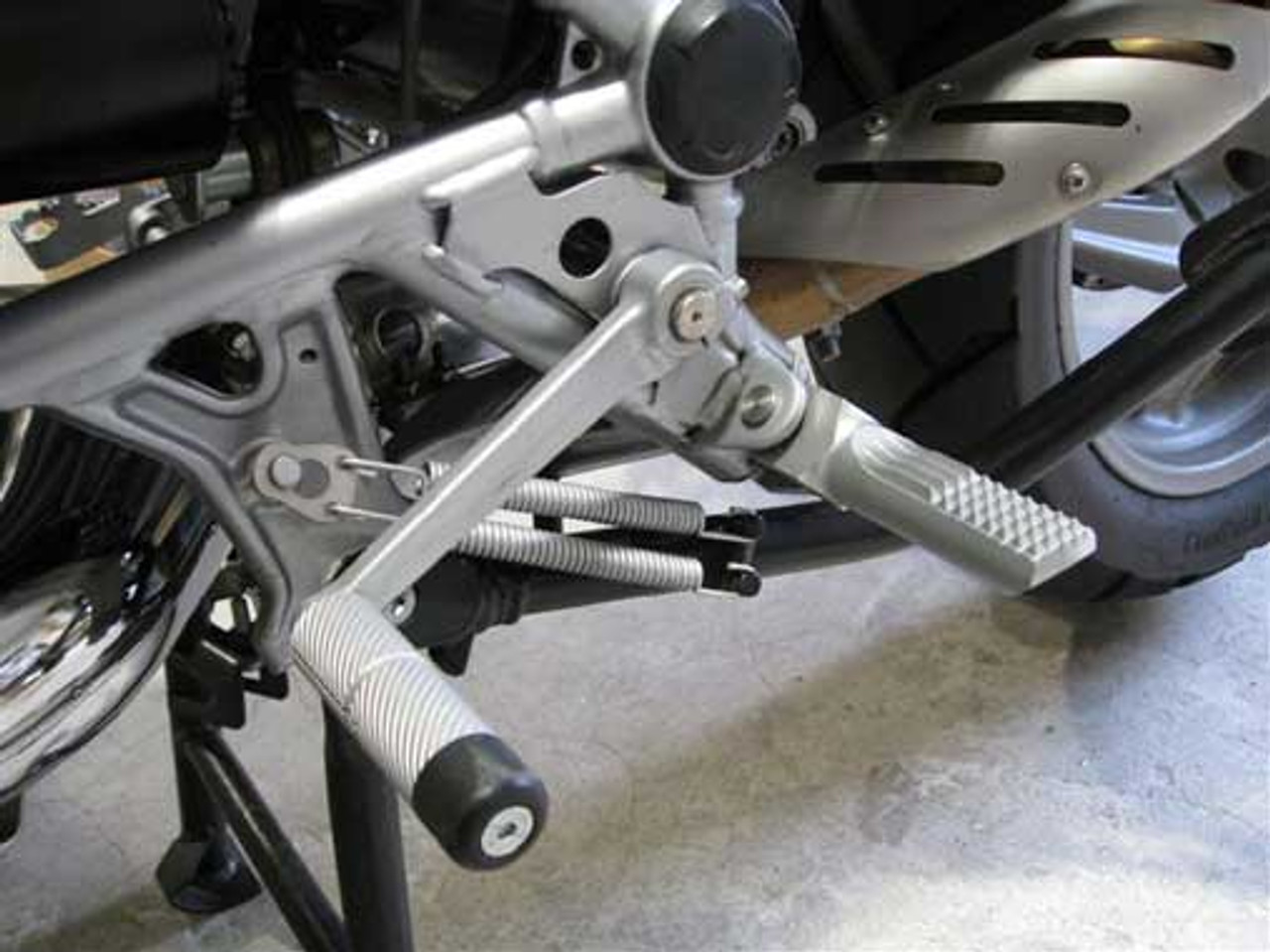 Driver Footpeg lowering pegs 40mm Move for BMW R1100GS