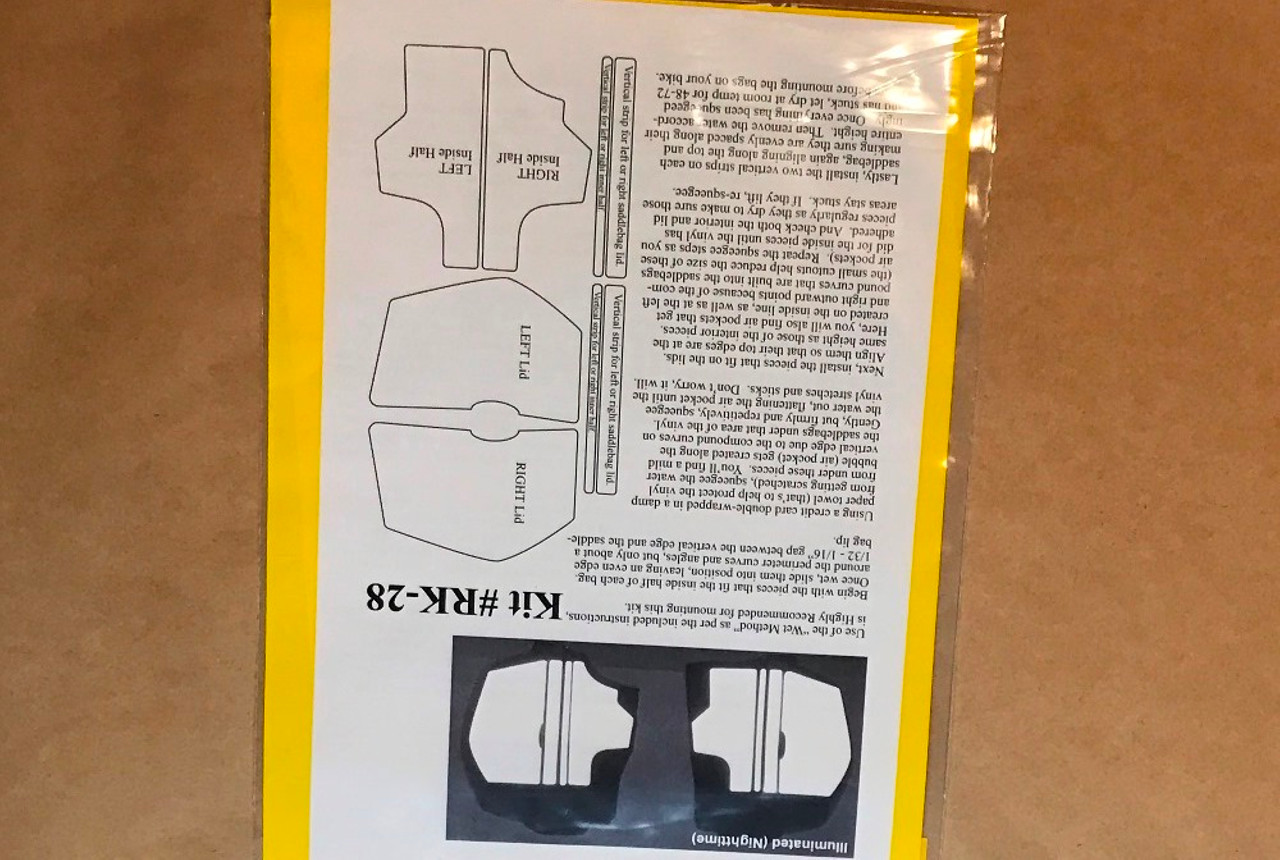 Top Case Reflective Tape Kit and R1200RLC 2015 BMW R1200RS 2015