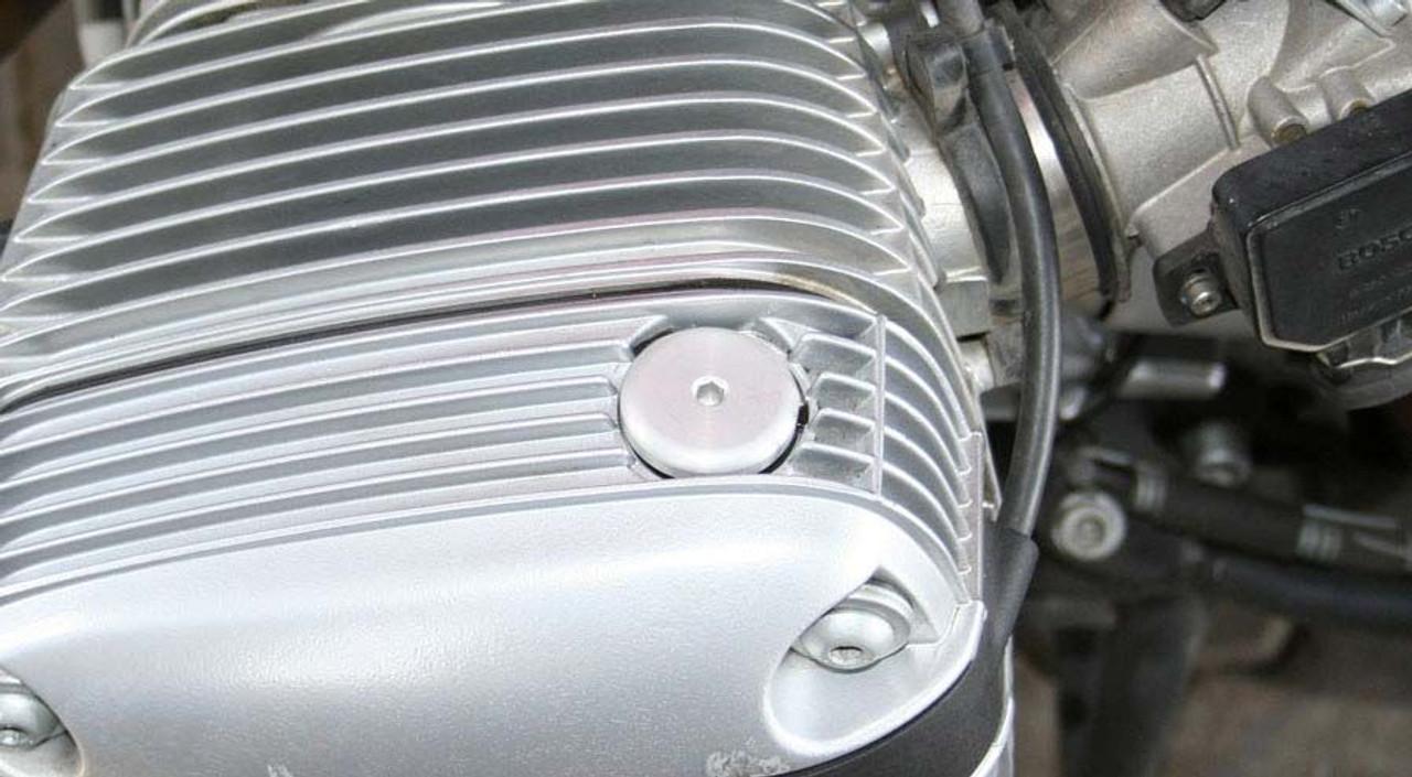 Basic Oil Fill Plug BLACK for BMW R1100 - R1150