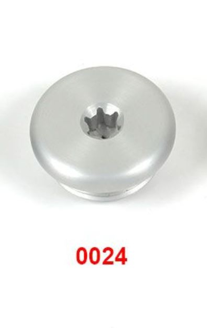Basic Oil Fill Cap Aluminum SILVER Anodized for BMW S1000 / G310
