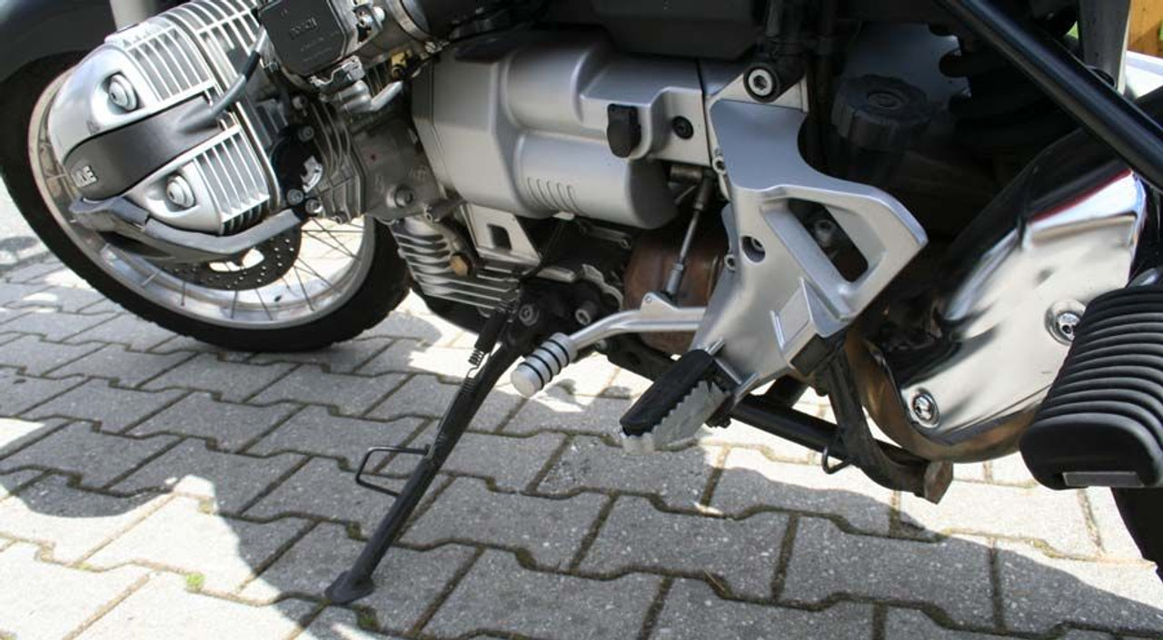 Shift Lever Enlargement Silver Anodized With O-ring HORNIG