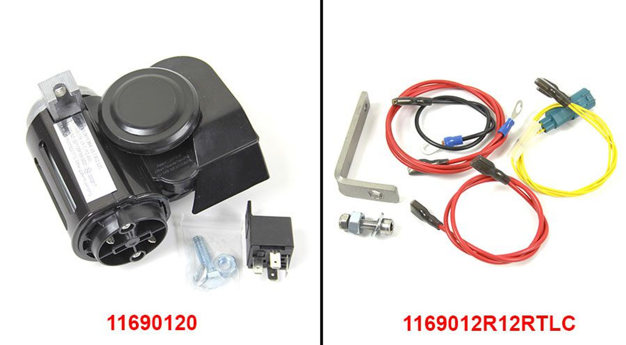Nautilus Horn kit for R1200RTLC 2014+ Very Loud - Includes mounting kit