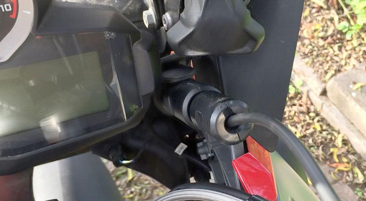 Rigid Adapter for BMW Socket to Cigarette Socket conversion
