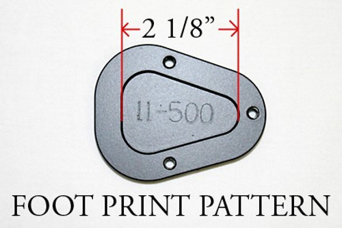 Motorcycle Sidestand Foot plate Enlarger R1100RT